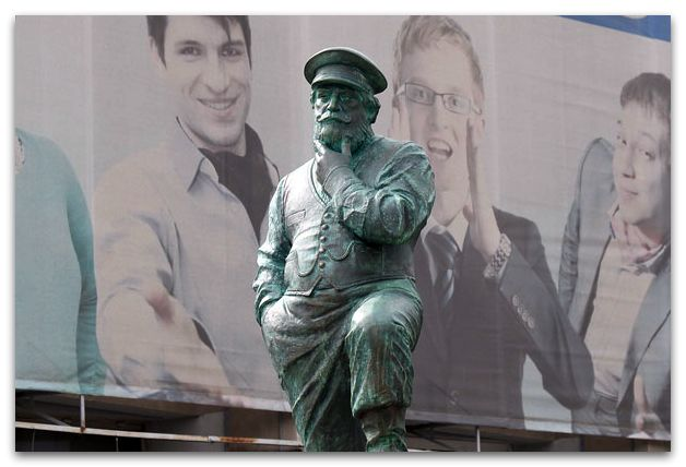В Екатеринбурге был открыт  памятник предпринимателю