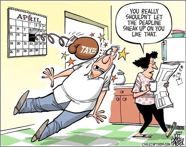Американская история… налогов